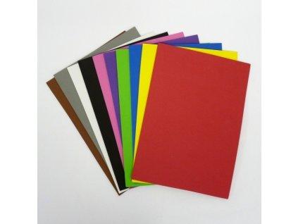 Sada filců - mix barev samolepící