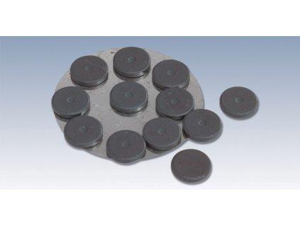 Silné feritové magnety 14,5mm