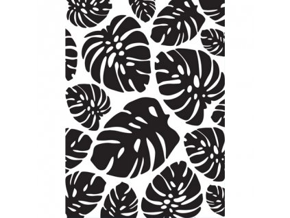 Embosovací kapsa Tropické listy