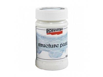 Pasta strukturovací bílá