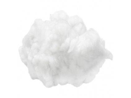Vatová výplň bílá česaná 100g
