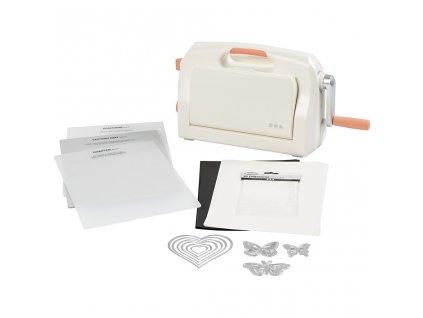 Vyřezávací a embosovací strojek Tools A4 (jako Big Shot) - Starter Kit