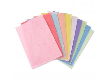 Sada filců mix pastelový 1,5mm