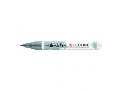 Akvarelový fix se štětcovým hrotem ECOLINE šedá