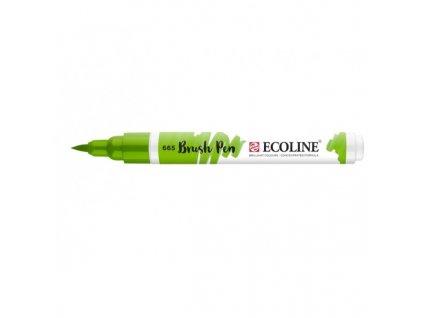 Akvarelový fix se štětcovým hrotem ECOLINE jarní zelená