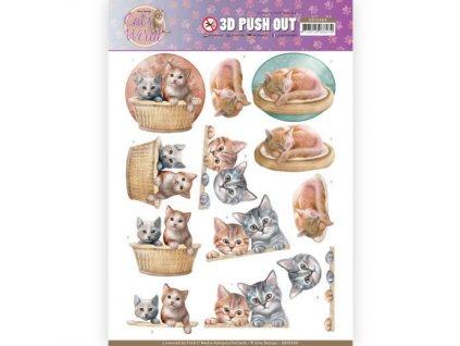 3D Výřezy Koťata