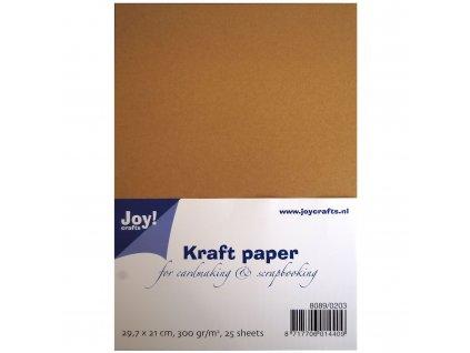 Papír hnědý Kraftstax A4