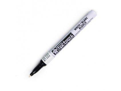 Permanentní fix Pen-Touch 1mm bílý