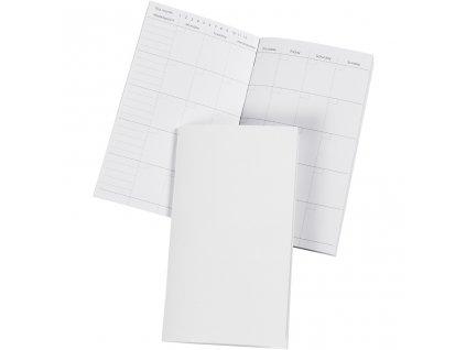 Nekonečný kalendář náplň pro diáře Journal & Planner