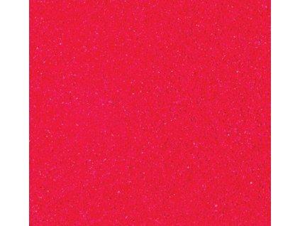 Prášek na embosing červený