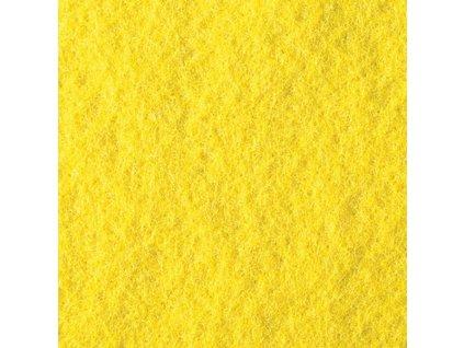 Filc 2mm, 20x30cm žlutý