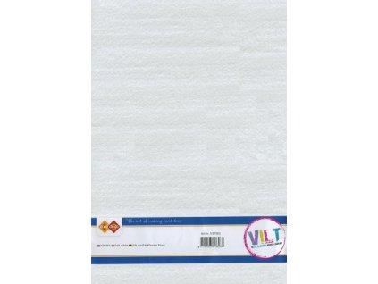 Filc 1,5 mm bílý