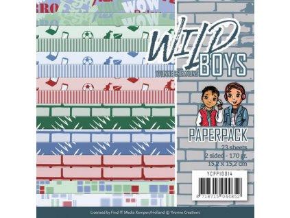 Sada papírů Pro kluky