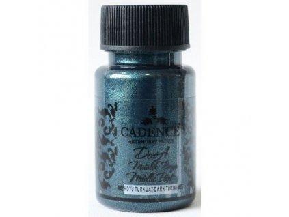 metalicka akrylova barva dora metalic dark turquoise tmave tyrkysova