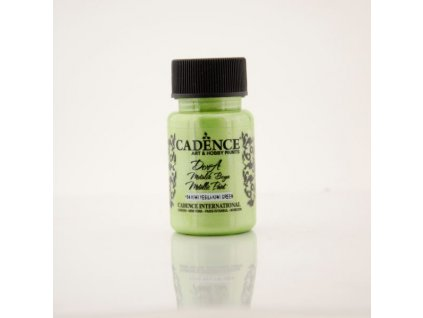 metalicka akrylova barva dora metalic svetle zelena kiwi green 50 ml