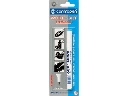 Popisovač Centropen 9211 bílý lakový