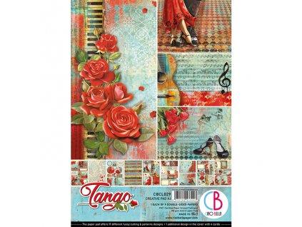 Sada oboustranných papírů Tango A4