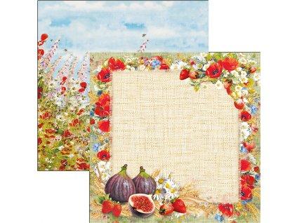 Oboustranný papír Sweet Countryside 30x30cm