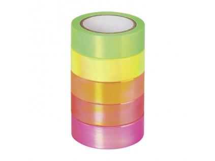 Samolepicí pásky neonový mix