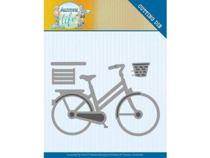 Šablona kovová vyřezávací Bicykl jízdní kolo