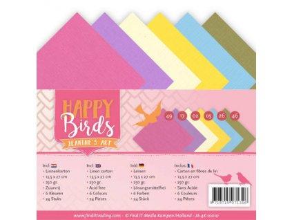 Sada papírů Happy Birds