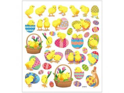 Samolepky Kuřátka a vejce