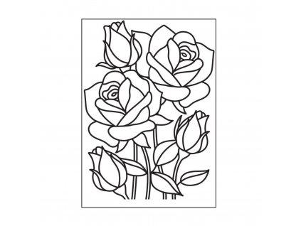Embosovací kapsa Růže