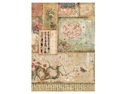 Rýžový papír Orientální spisy