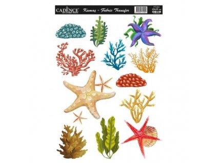 nazehlovaci nalepka 25x35cm koralovy utes