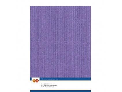Barevný papír - texturovaná čtvrtka fialová