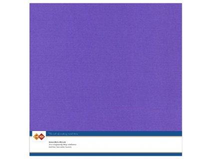 Barevný papír - texturovaná čtvrtka fialová 30x30cm