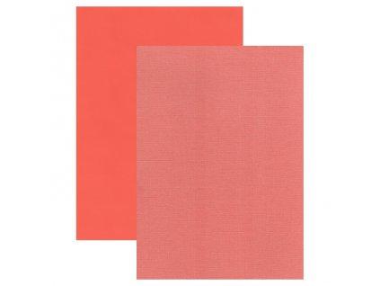 Barevný papír perleťová texturovaná čtvrtka muškát