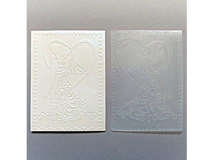 Embosovací kapsa Ženich a nevěsta