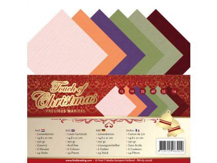 Sada papírů A5 Dotek Vánoc