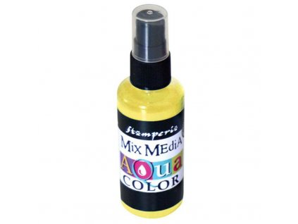 stamperia aquacolor spray 60ml yellow kaq005