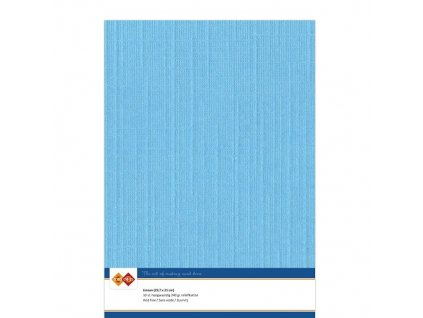 LKK A429 nebesky modrý strukturováný papí