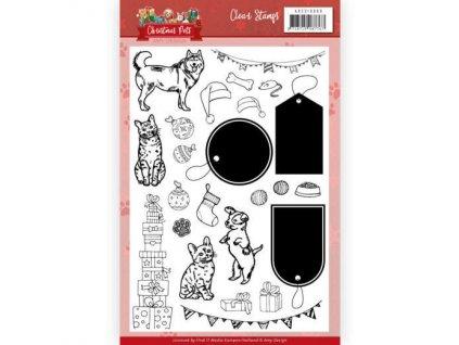 ADCS10069 razítka psí a kočičí kolekce