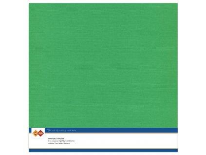 Barevný papír - texturovaná čtvrtka zelená 30x30cm