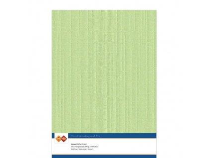 Barevný papír - texturovaná čtvrtka jarní zelená