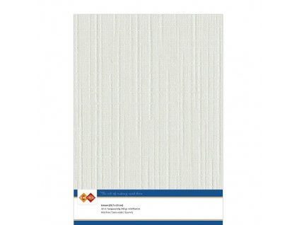 Barevný papír - texturovaná čtvrtka světle šedá