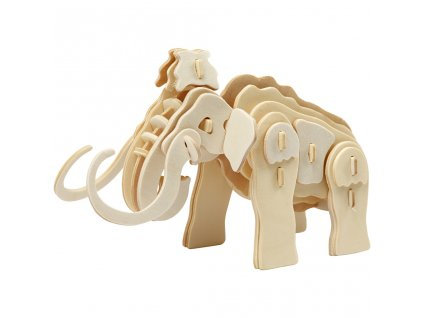 580503 model puzzle mamut