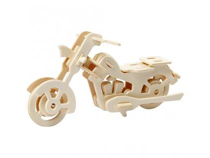 580504 model puzzle motorka