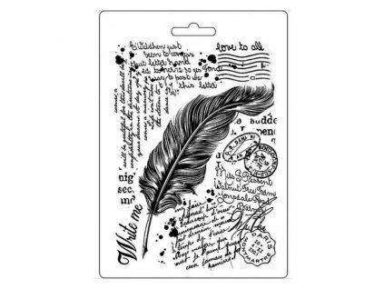 K3PTA511 peříčko a text