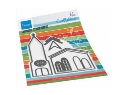 CR1520 vyřezávací šablona kostel