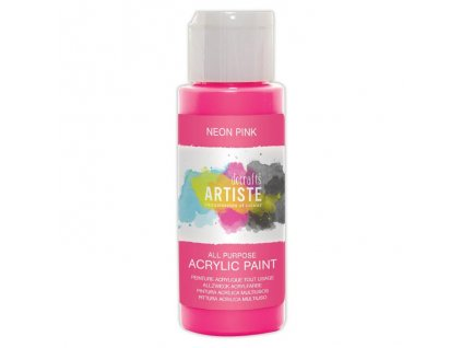 DOA 766073 akrylová barva neonová růžová