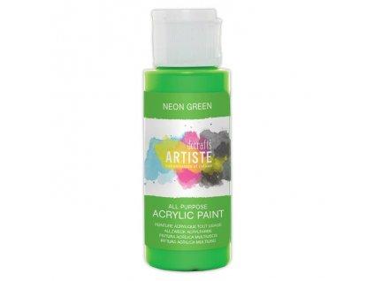 DOA 766078 akrylová barva neonová zelená