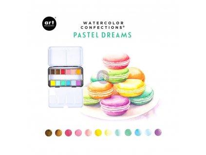 Akvarelové barvy Pastel Dreams