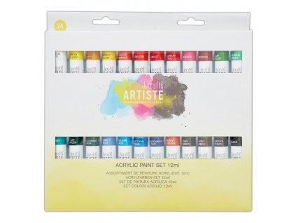 DOA 551001 sada akrylových barev artiste