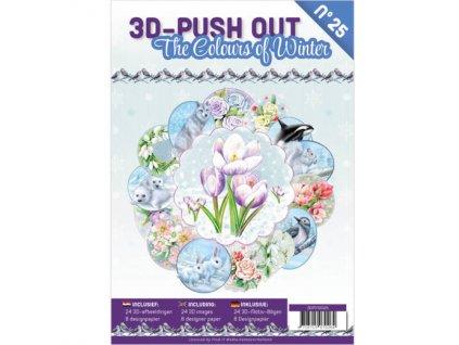 3DPO10025 kniha 3D papírové výřezy