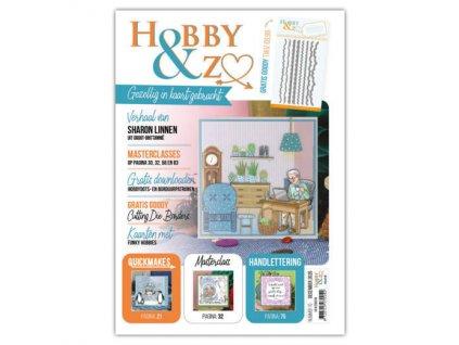 HENZO010 kreativní časopis s dárkem